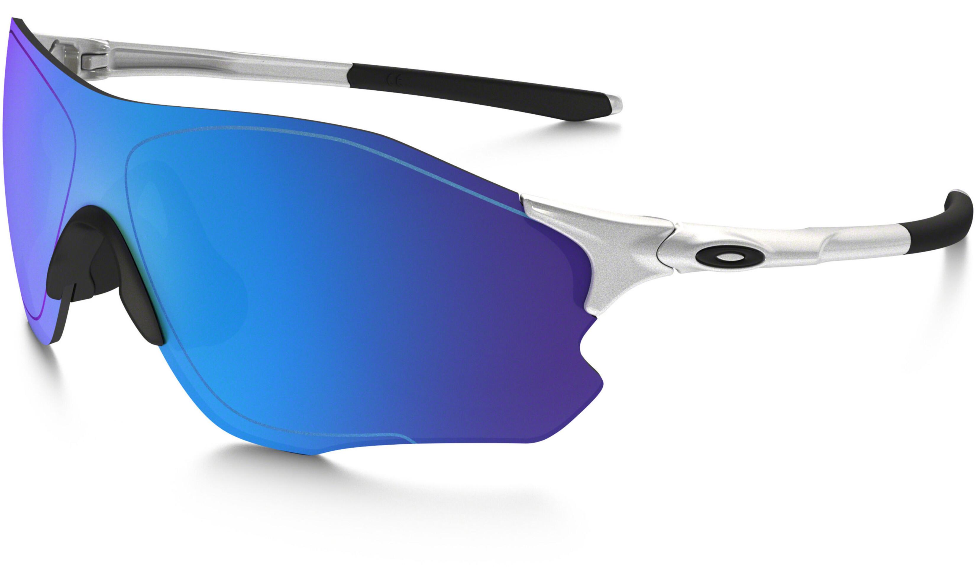 Oakley Evzero Path - Gafas ciclismo - azul Plateado   Bikester.es 8abc1cd99f